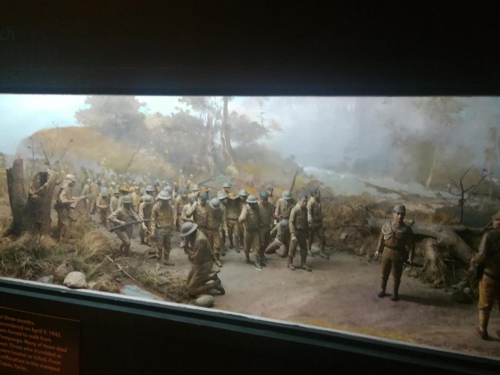 アヤラ博物館日本軍ジオラマバターン行進