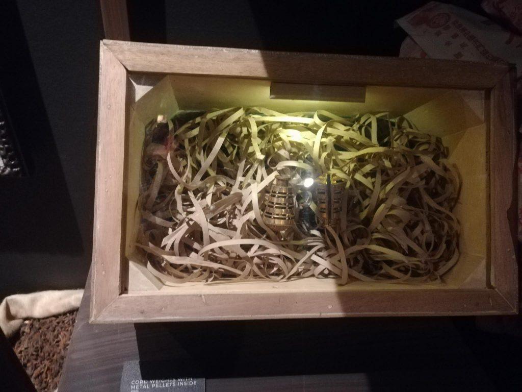アヤラ博物館黄金のおもり