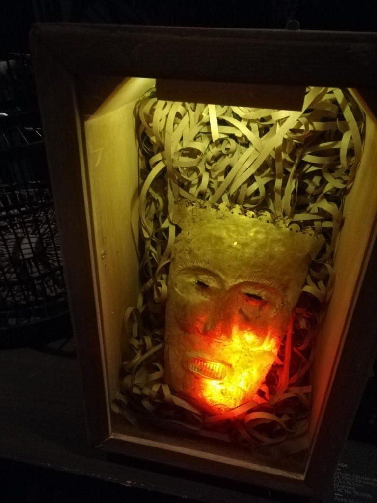 アヤラ博物館黄金マスク