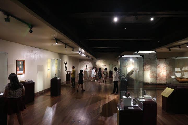 サンディエゴ号展示室2全体
