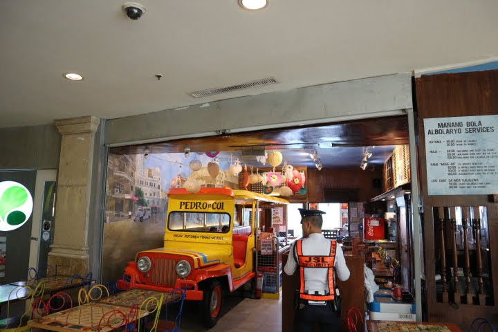 ResortsWorldManila4Fフィリピン料理店