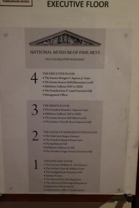 フィリピン国立美術館フロア解説