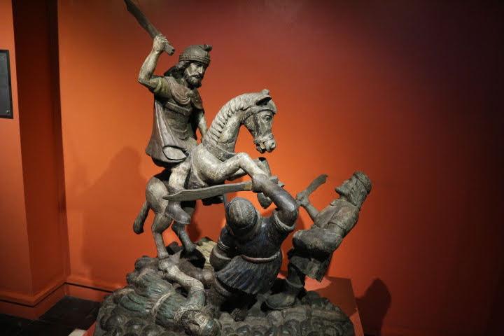 Santiago Matamorros木像