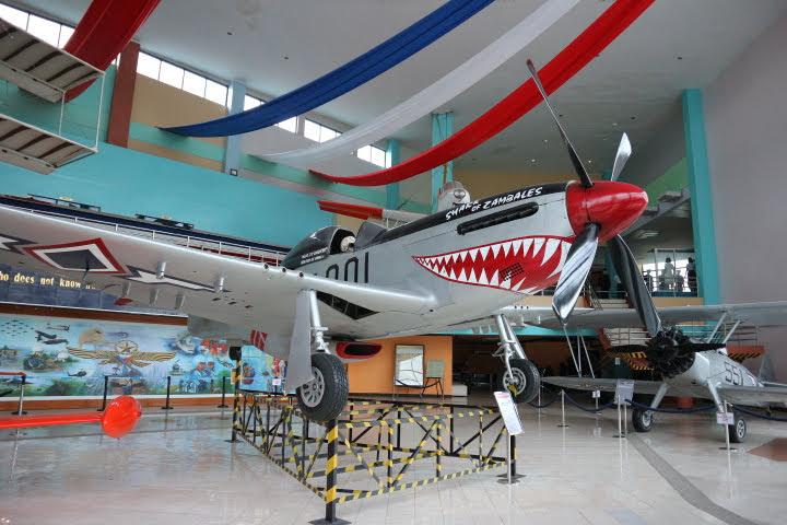 フィリピン空軍博物館P-51解説
