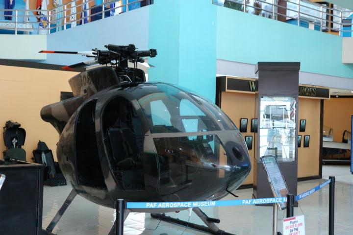 フィリピン空軍博物館MG-520