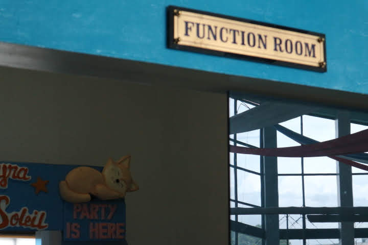 フィリピン空軍博物館ファンクションルーム