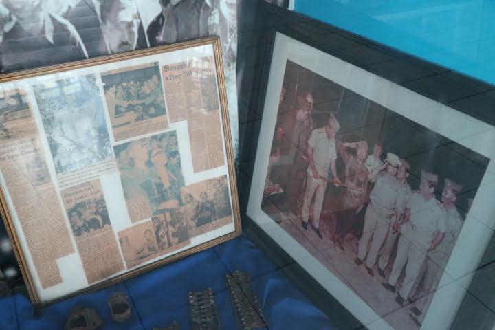 フィリピン空軍博物館小野田さん降伏時写真