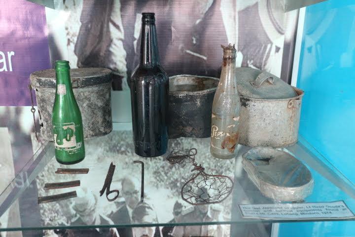 フィリピン空軍博物館小野田さん利用炊事道具
