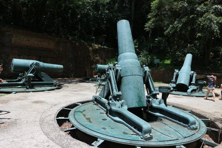 BatteryWay大砲4丁