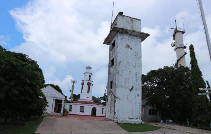 コレヒドール島スペイン灯台