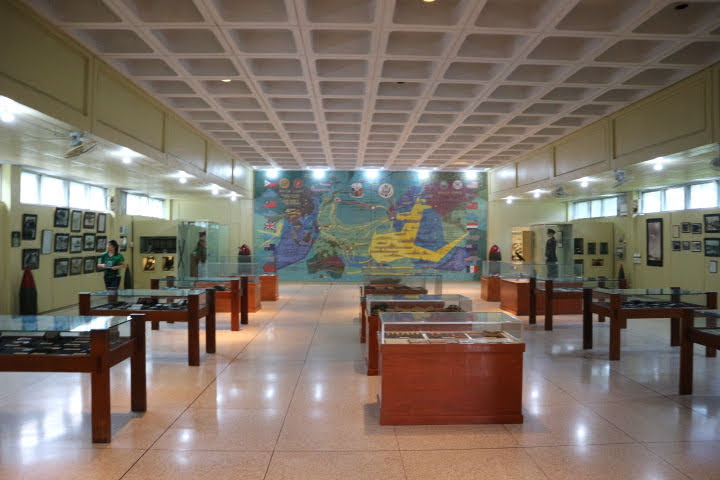 Pacific War Memorial Museum内部