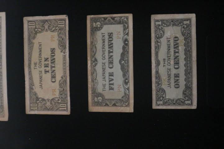 日本発行ペソセンタボ紙幣