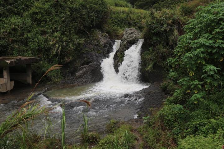 ボコンの滝トレッキング滝到着