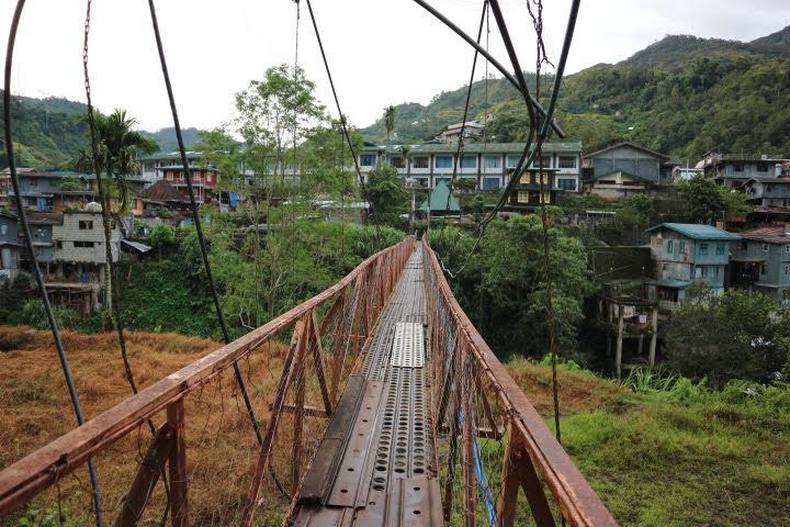 バナウェ吊橋
