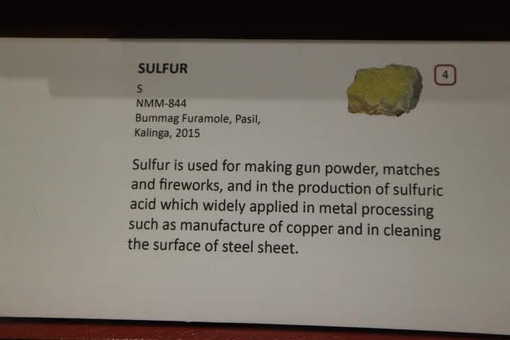 ギャラリー3硫黄解説