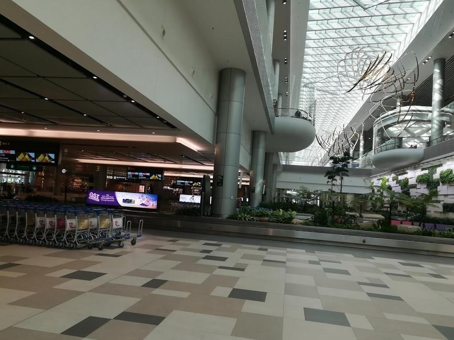 チャンギ空港荷物受け取りターミナル4