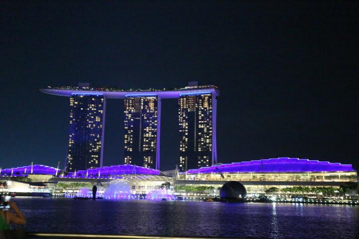 MarinaBaySands夜景