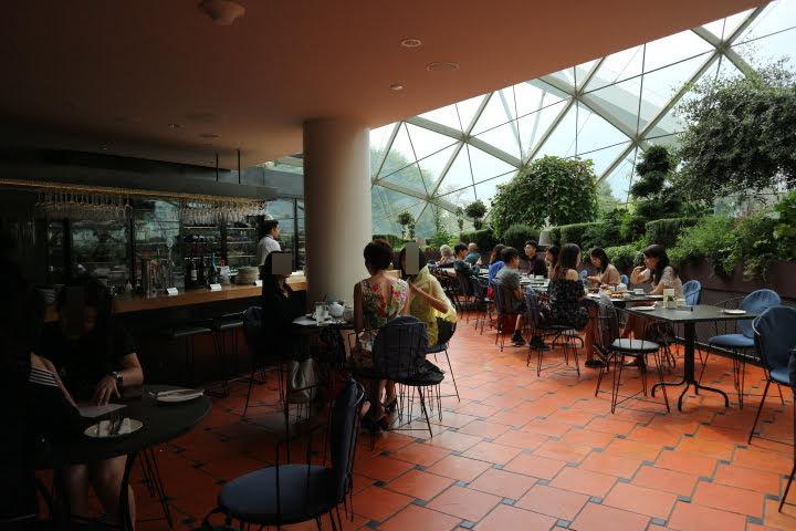GardenByTheBayカフェ