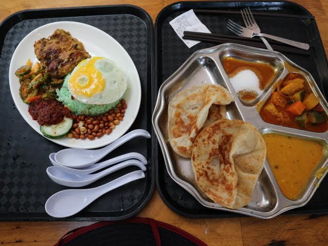 シンガポール動物園フードコート昼食