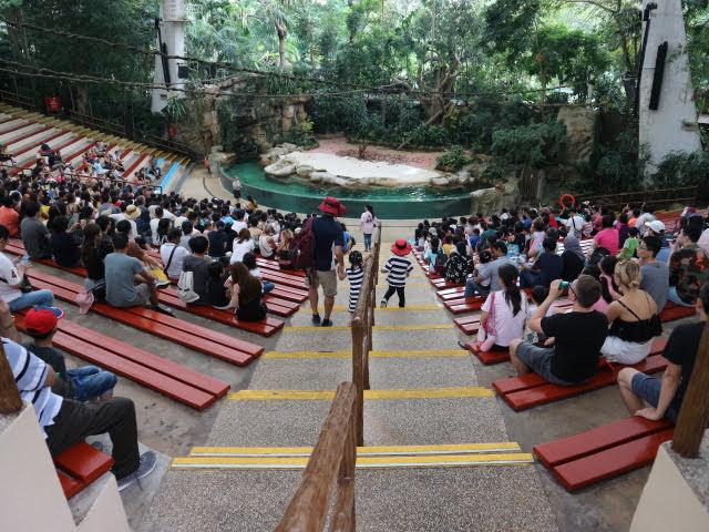 シンガポール動物園動物ショー