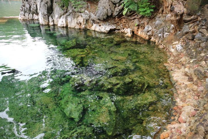 マキニット温泉お湯がきれい