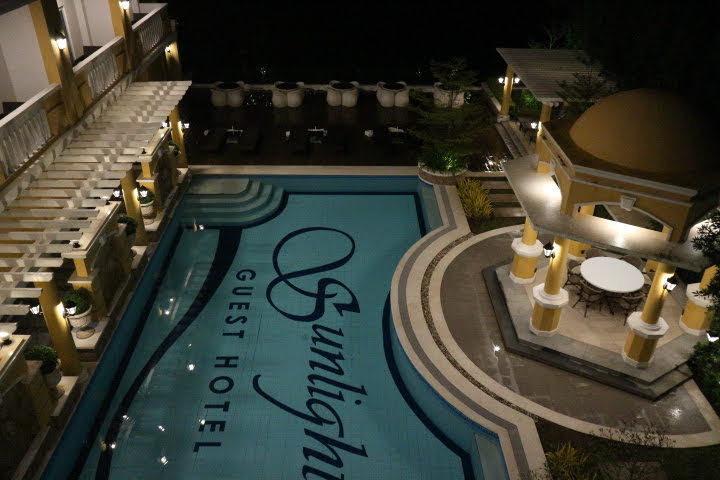 Sunlight Guest Hotel夜景