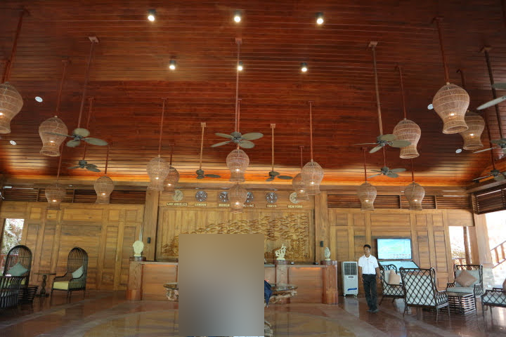 Sunlight Eco Tourism Island Resortロビー