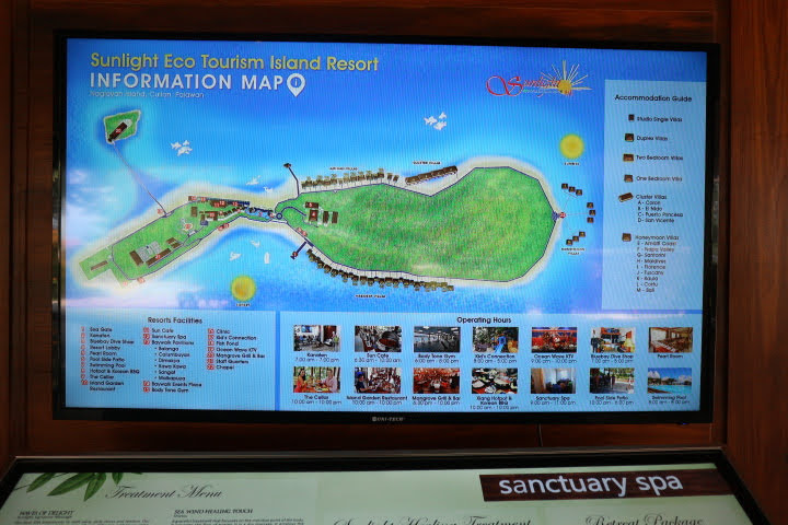 Sunlight Eco Tourism Island Resortマップ