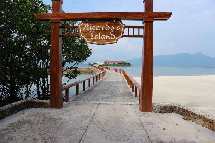 Sunlight Eco Tourism Island Resort離れ小島