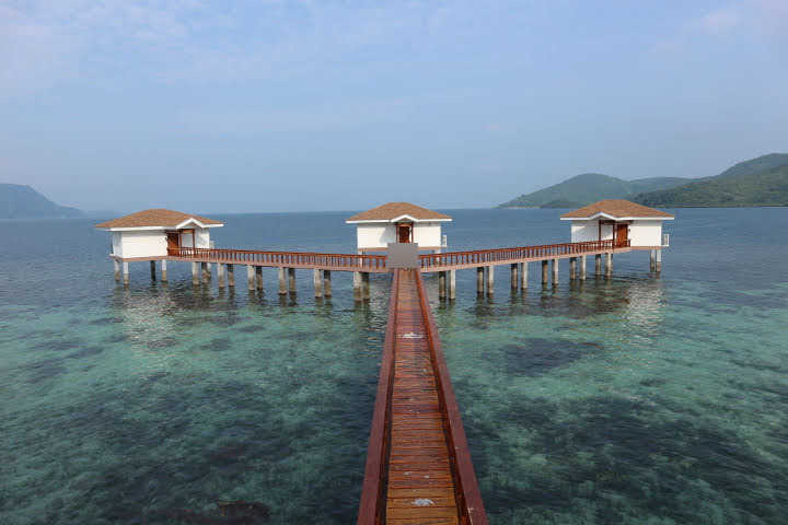 Sunlight Eco Tourism Island Resortハネムーンコテージ