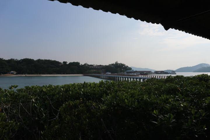 Sunlight Eco Tourism Island Resort離れ小島のBBQハウス