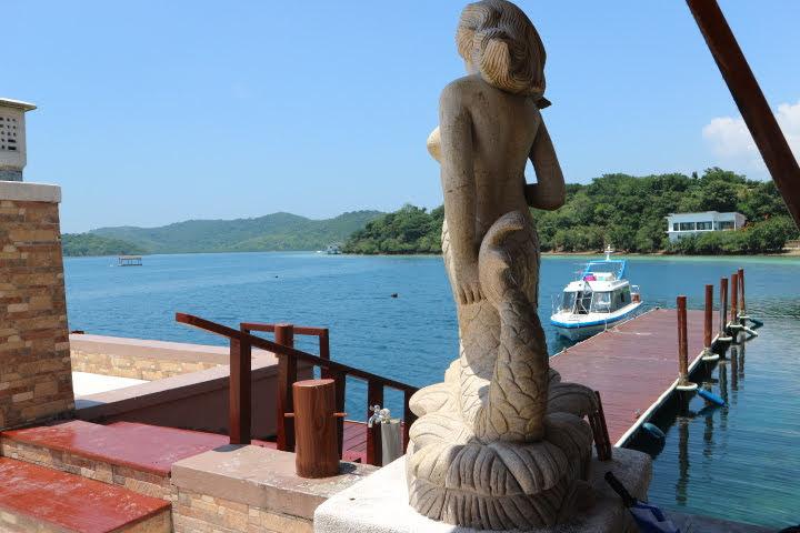 Sunlight Eco Tourism Island Resort ボート乗り場