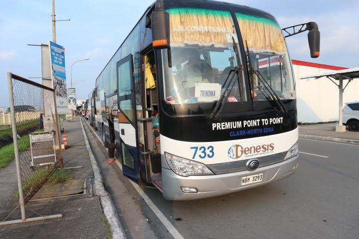 クラークからTrinoma行きバス