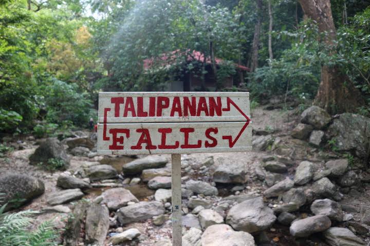 TalipananFalls入り口