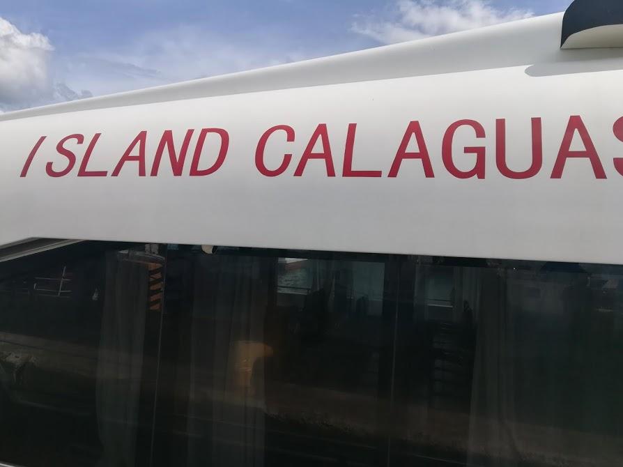 IslandCalaguas号