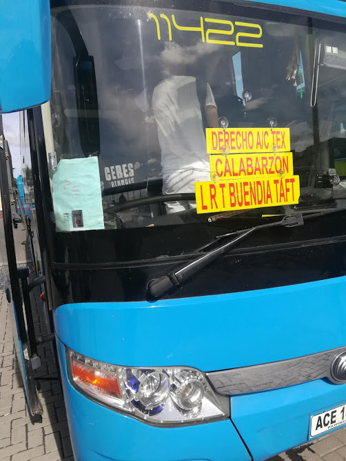 LRTBuendia行きバス
