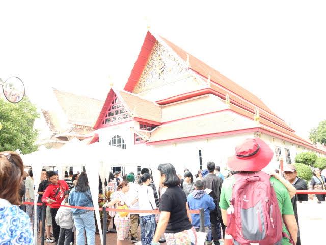 タイ国立博物館大行列
