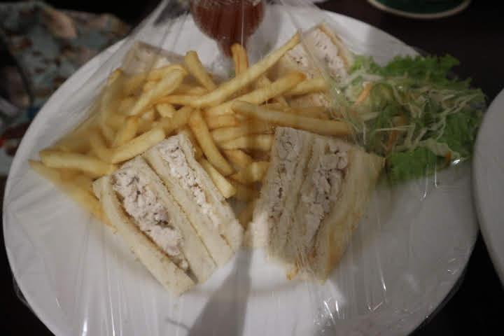 ルームサービスサンドイッチ