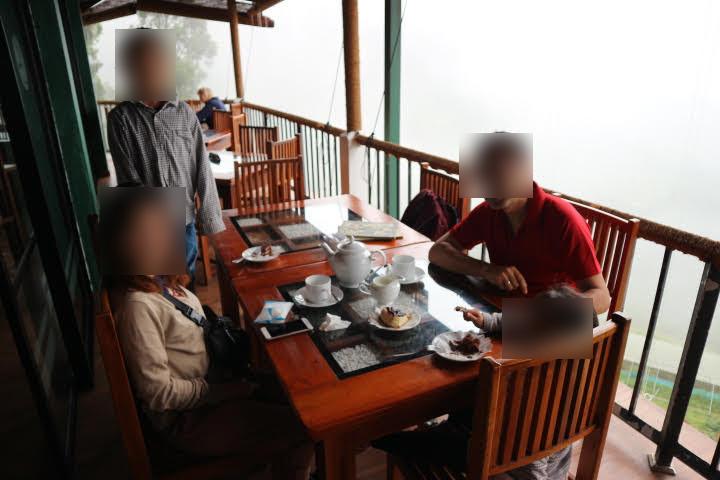 ヌワラエリヤ近辺のカフェ
