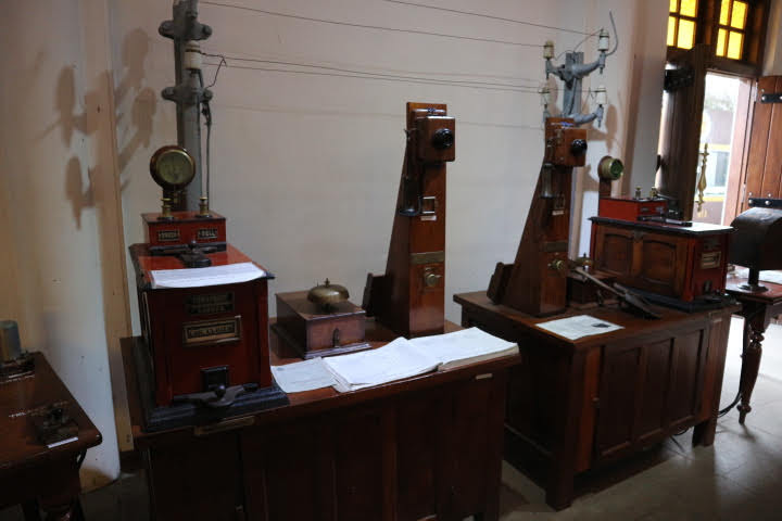 Kadugannawa鉄道博物館_通信機器