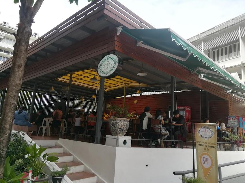 タイ国立博物館カフェ