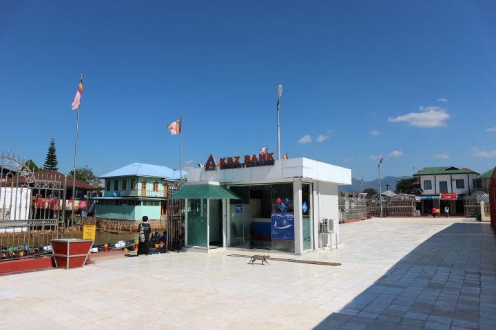 ファンドーウーパゴダATM・銀行
