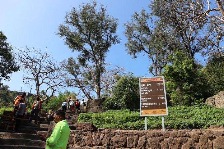 Ajanta遺跡入り口