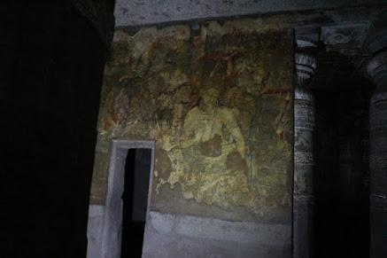 Ajanta遺跡内部