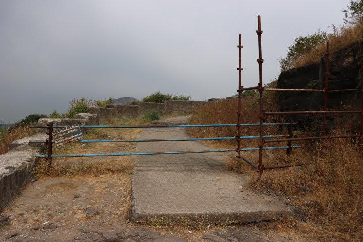 カイラサナータ上から見るための入り口