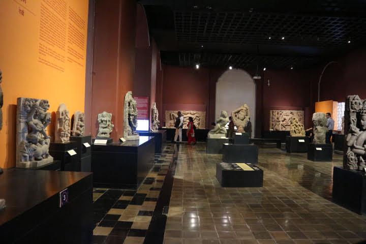 ムンバイ博物館彫刻ギャラリー内部
