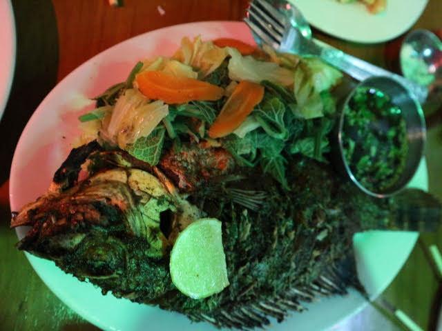 SinYawレストラン魚