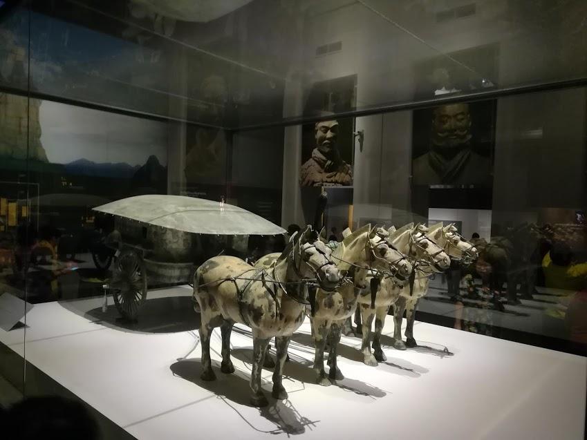 タイ国立博物館兵馬俑展1