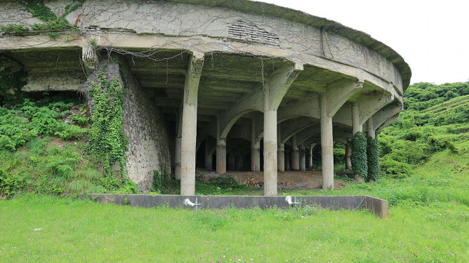 北沢浮遊選鉱場 シックナー